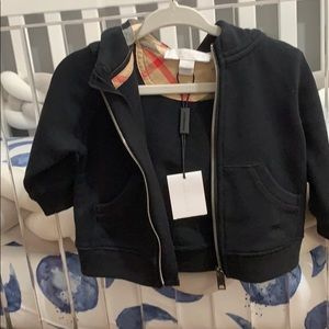 SOLD!Baby Burberry hoodie